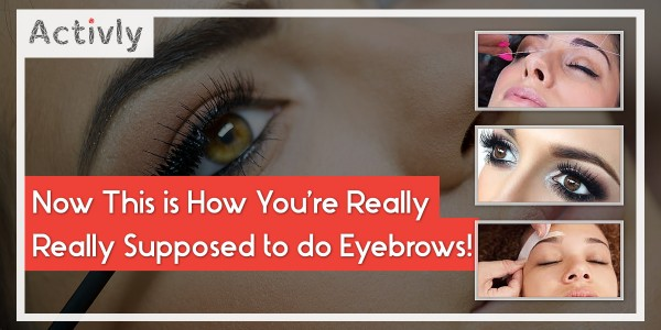 how to do eyebrows