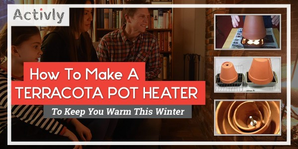 how to make terracotta pot heater